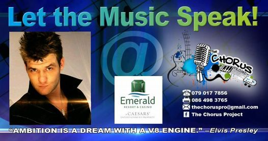 Jaco Briel live at Emerald Resort & Casino | Event in Vanderbijlpark | AllEvents.in