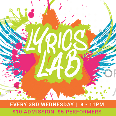 In-Person Lyrics Lab - All Arts Open Mic