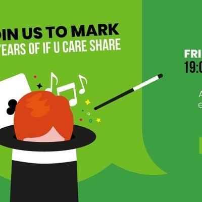 If U Care Share 10th Anniversary Magic Ball