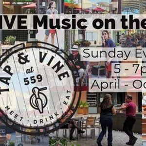 LIVE Music on the Patio Every Sunday Starting in April