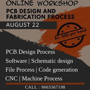Online Workshop on PCB Design and Fabrication Process
