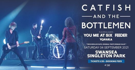 Catfish and the Bottlemen live in Singleton Park, Swansea, 4 September | Event in Swansea | AllEvents.in
