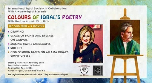 Course Colours of Iqbals Poetry with Madam Yasmin Riaz Shah