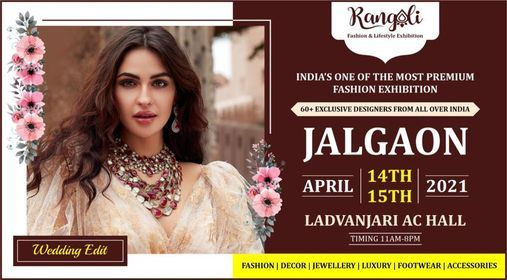 Rangoli Grand Wedding Special Exhibition - JALGAON, 16 June | Event in Jalgaon | AllEvents.in