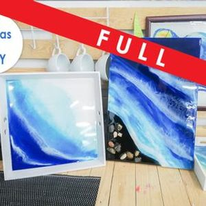 Ocean Resin Art Class