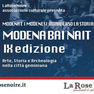 MODENA BAI NAIT 2021 - Modena e i modenesi attraverso la storia