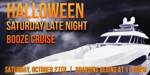 Halloween Saturday Late Night Booze Cruise, 1 February | Event in Chicago | AllEvents.in