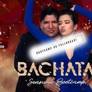 Fullbokad Bachata sensual bootcamp med Ivan & Diana