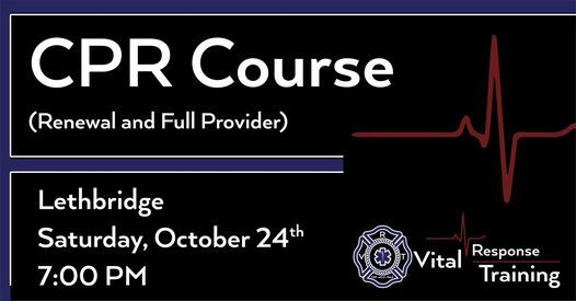 CPR Course - Healthcare Provider | Event in Lethbridge | AllEvents.in