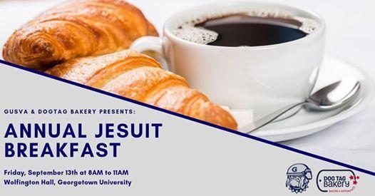 Annual Jesuit Breakfast