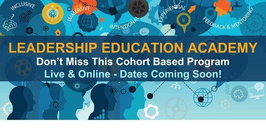 2021 Leadership Education Academy, 1 August   Online Event   AllEvents.in