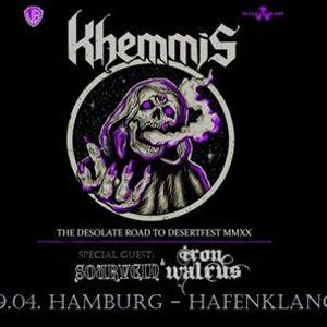 Khemmis & Sourvein & Iron Walrus  Hamburg - Hafenklang