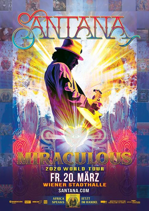 Santana - Miraculous 2020 World Tour  Vienna