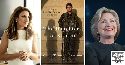 Gayle Tzemach Lemmon | The Daughters of Kobani with Hillary Rodham Clinton | Online Event | AllEvents.in