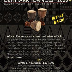 African Contemporary dans med Julienne Doko