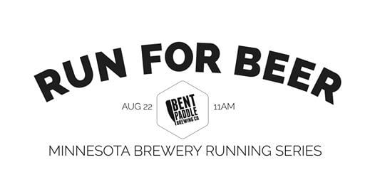 Beer Run - Bent Paddle Brewing Co  2020 Minnesota Brewery Running Series