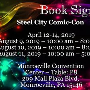 Book Signing at Steel City Comic Con
