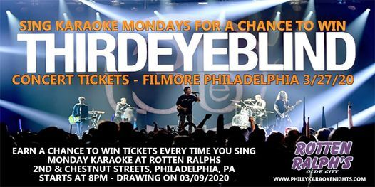 Monday Karaoke at Rotten Ralph (Win Concert Tickets), 30 November | Event in Philadelphia | AllEvents.in