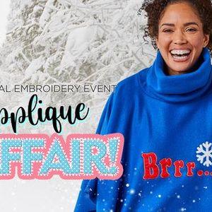 Embroidery.com - Applique Affair Virtual Event