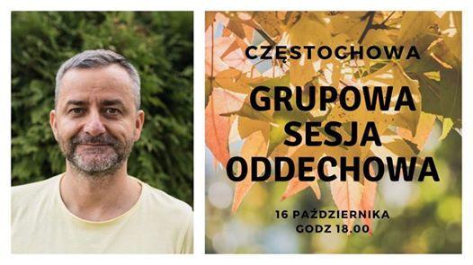 Przestrze Oddechu. Grupowa Sesja Oddechowa w Czstochowie