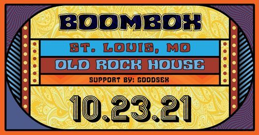 BoomBox at Old Rock House, 23 October   Event in St. Louis   AllEvents.in