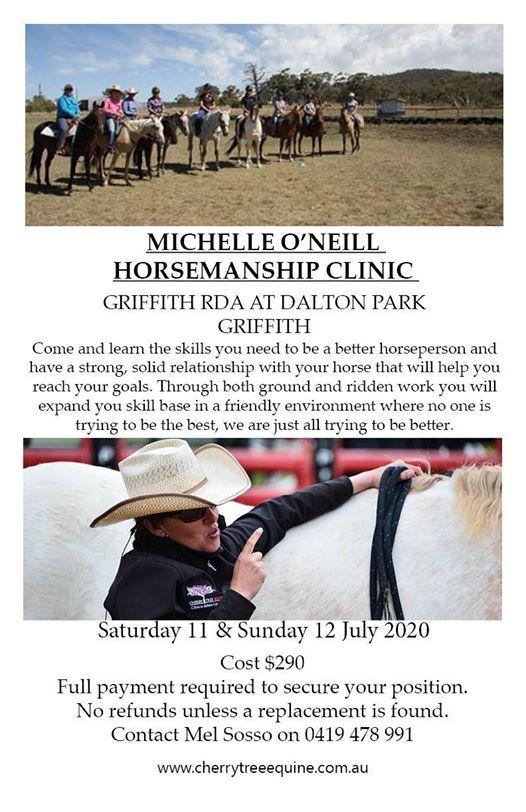 Horsemanship Clinic at Griffith