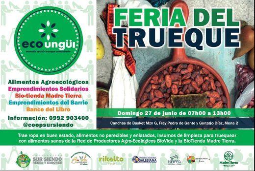 """III FERIA DEL TRUEQUE """"ECO UNGÜI"""" - INTI RAYMI, 27 June   Event in Latacunga   AllEvents.in"""