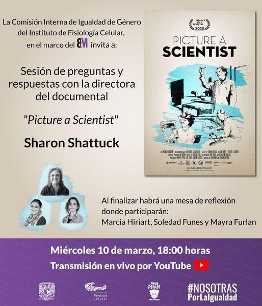 Sesion De Preguntas Y Respuestas Con La Directora De Picture A Scientist Sharon Shattuck March 10 2021 Online Event Allevents In