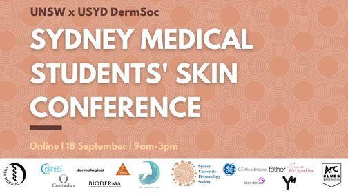 Sydney Medical Students' Skin Conference, 18 September   Event in Rose Bay   AllEvents.in