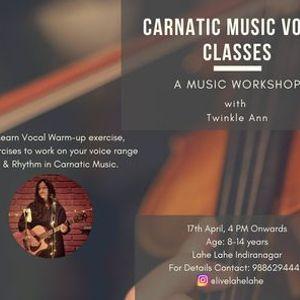 Carnatic Music Vocal Classes