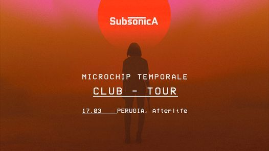 Subsonica - Microchip Temporale Club Tour - Perugia, 11 March | Event in Perugia | AllEvents.in