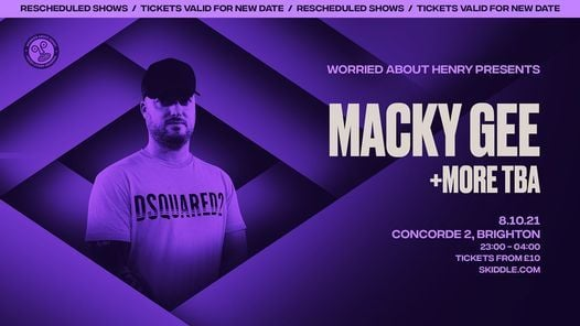 Macky Gee, 3 April | Event in Brighton | AllEvents.in