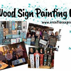 Des Moines IA - Wood Sign Painting Workshop at Saints Pub