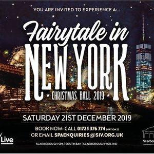 Fairytale in New York Christmas Ball Saturday 21 December 2019