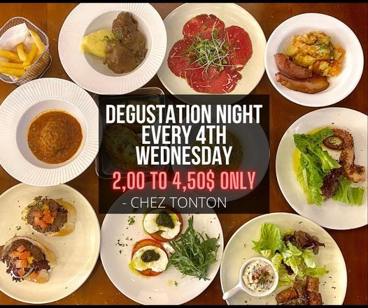Degustation Night - FOOD SHARING, 28 April | Event in Phnom Penh | AllEvents.in