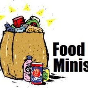 Drive up food pantry