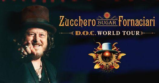 Zucchero DOC World Tour 2022 - Manchester, 19 April | Event in Manchester | AllEvents.in