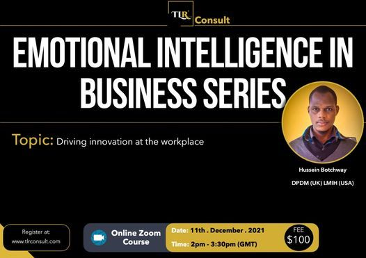 Driving Innovation at the Workplace, 11 December   Online Event   AllEvents.in