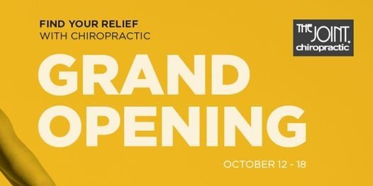 The Joint Chiropractic St. Petersburg Grand Opening | Event in Saint Petersburg | AllEvents.in