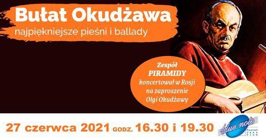 Bułat Okudżawa – najpiękniejsze pieśni i ballady, 25 April | Event in Poznan | AllEvents.in