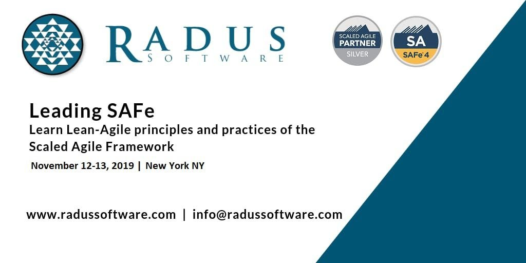 Leading SAFe 4.6 with SA Certification - New York NY