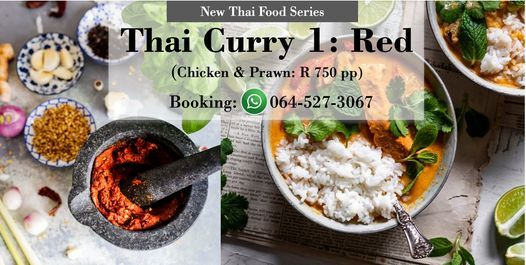 Thai Curry 1: Red (5 seats), 20 May | Event in Midrand | AllEvents.in