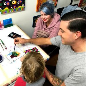 December First Fridays at StudioPick Drop-In Card Making