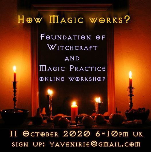Foundation of Magic Practice, 17 October | Online Event | AllEvents.in