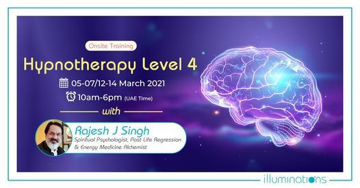 Hypnotherapy Level 4 With Rajesh Singh | Event in Abu Dhabi | AllEvents.in