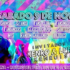 KPOP STARS con Kenro y Luis Arredondo sab 9 de noviembre
