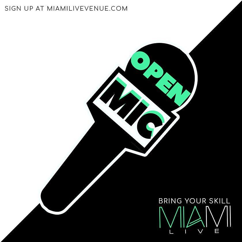 Miami LIVE Open Mic 12/4/20 - DJ Killa K, 4 December | Event in Miami Beach | AllEvents.in