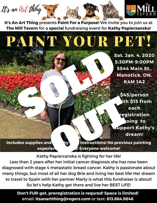 Its An Art Thing - Paint Your Pet for a Purpose