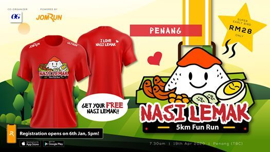 Penang Nasi Lemak 5KM Fun Run