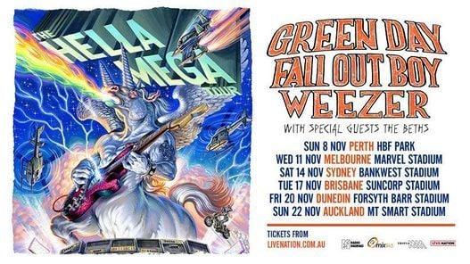 Hella Mega Tour - Dunedin - Not Proceeding, 20 November | Event in Dunedin | AllEvents.in